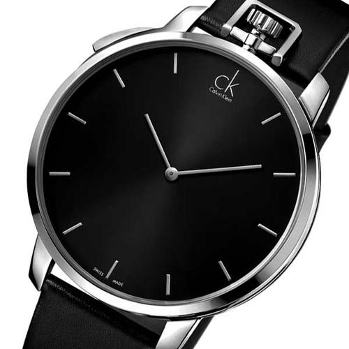 カルバンクライン エクセプショナル メンズ 腕時計 CLK3Z211C1 ブラック
