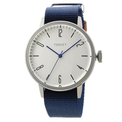 ソベット SVT-CN38 クオーツ ユニセックス 腕時計 CN110198-40 ホワイトシルバー></a><p class=blog_products_name