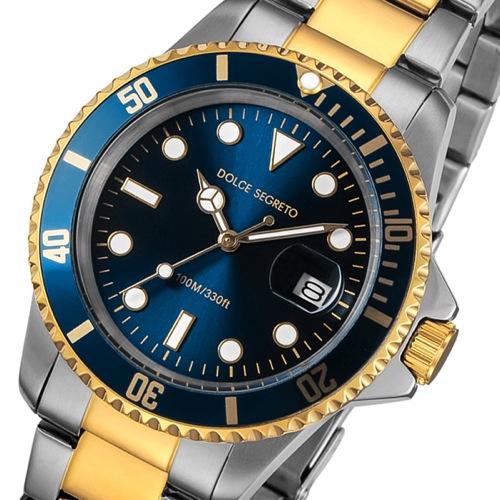 ドルチェ セグレート DOLCE SEGRETO クオーツ メンズ 腕時計 CSB200BU ブルー