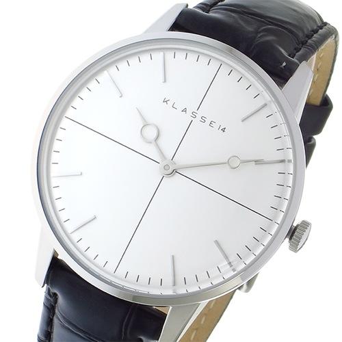 クラス14 KLASSE14 DISCO-VOLANTE 36mm ユニセックス 腕時計 DI16SR001W シルバー></a><p class=blog_products_name