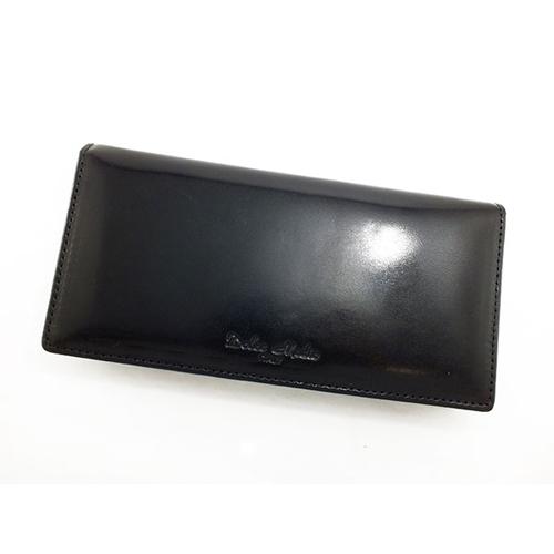 ドルチェ メディオ DOLCE MEDIO メンズ 二つ折り 長財布 DM-0132-BK ブラック