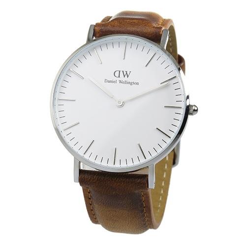 ダニエル ウェリントン クラシック ダラム/シルバー 36mm 腕時計 DW00100112