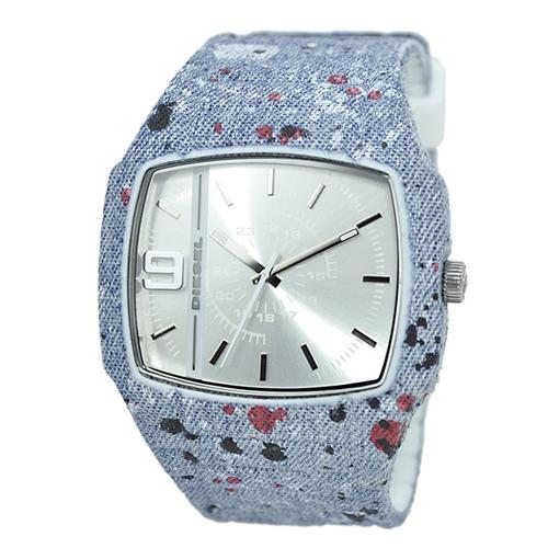 ディーゼル DIESEL トロイ TROJAN デニム クオーツ メンズ 腕時計 DZ1685