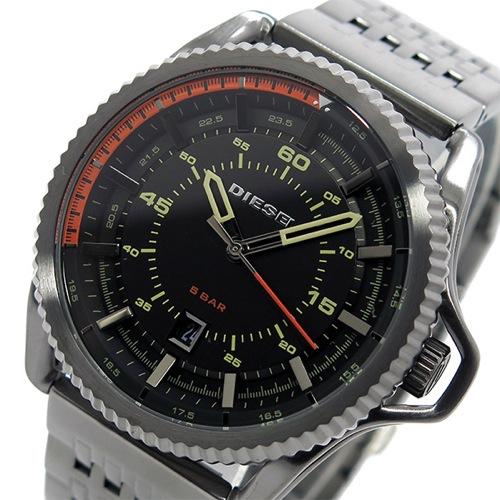 ディーゼル DIESEL ロールケージ クオーツ メンズ 腕時計 DZ1719 ブラック