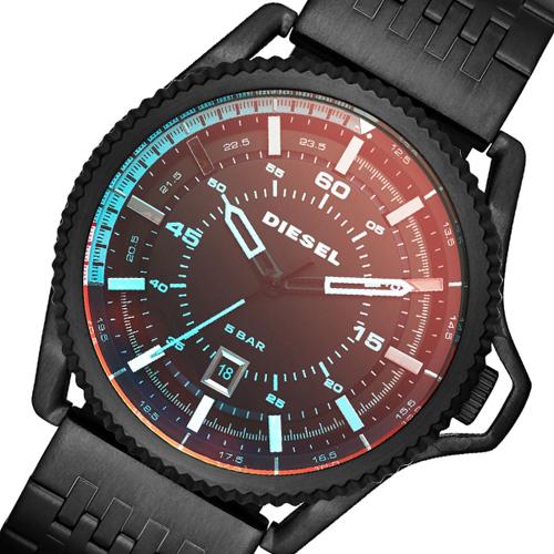 ディーゼル DIESEL ロールケージ ROLLCAGE メンズ 腕時計 DZ1720 ブラック