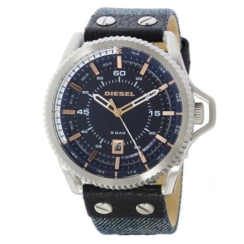 ディーゼル DIESEL ロールケージ ROLLCAGE クオーツ メンズ 腕時計 DZ1727 ダークブルー