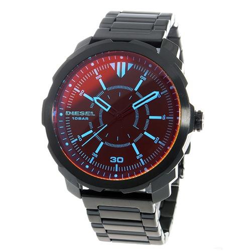 ディーゼル DIESEL マシナス クオーツ メンズ 腕時計 DZ1737 ブラック