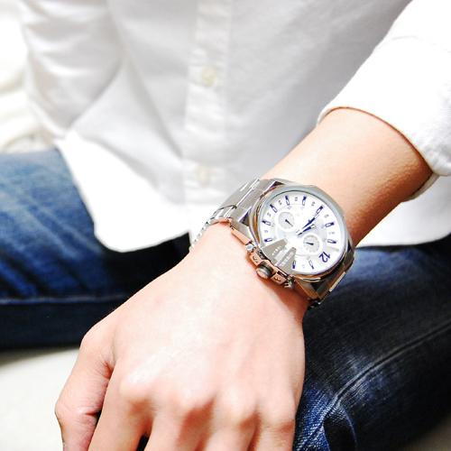 ディーゼル DIESEL クロノグラフ 腕時計 DZ4181