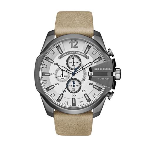 ディーゼル DIESEL メガチーフ クロノ メンズ 腕時計 DZ4359 ホワイト
