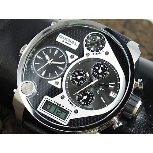 ディーゼル DIESEL 4タイム アナデジ 腕時計 DZ7125