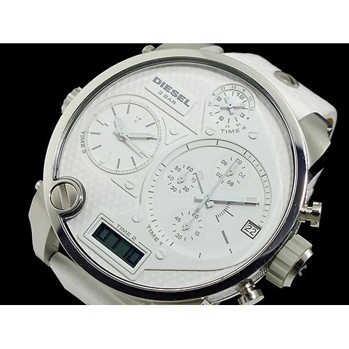 ディーゼル DIESEL フォータイム アナデジ クロノグラフ 腕時計 DZ7194