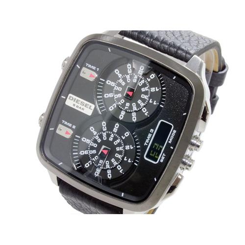 ディーゼル DIESEL トリプルタイム アナデジ 腕時計 DZ7302