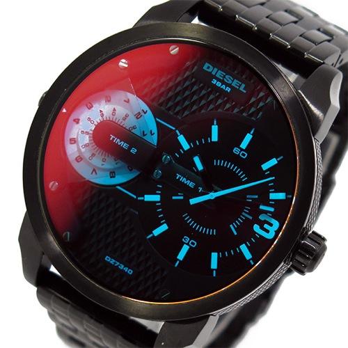 ディーゼル DIESEL クオーツ メンズ 腕時計 DZ7340 ブラック