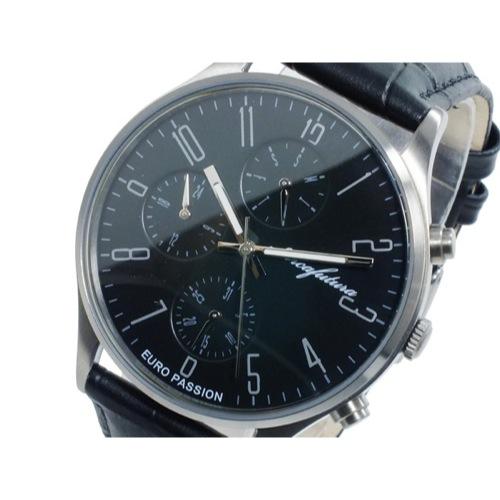 アルカ フトゥーラ ARCA FUTURA クオーツ メンズ 腕時計 EC483BK ブラック