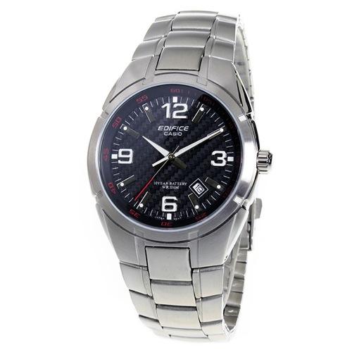 カシオ エディフィス クオーツ メンズ 腕時計 EF-125D-1AV ブラック