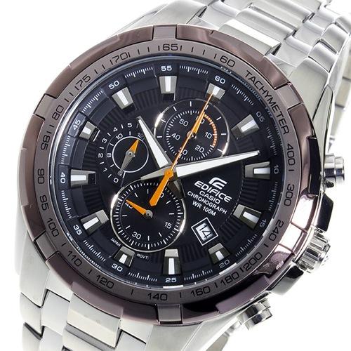 カシオ エディフィス クロノ クオーツ メンズ 腕時計 EF-539D-1A9V ブラック