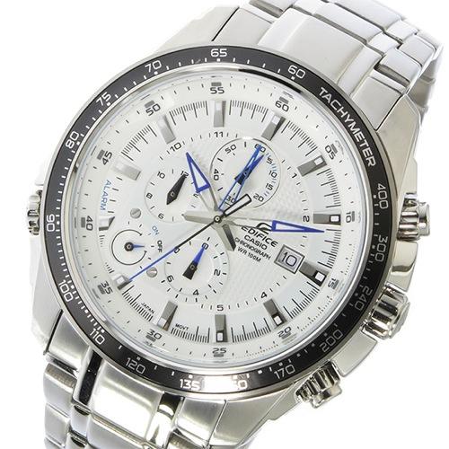 カシオ エディフィス クロノ クオーツ メンズ 腕時計 EF-545D-7AV ホワイト
