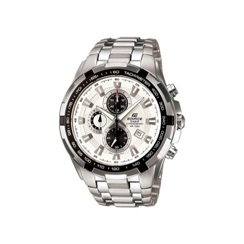 カシオ CASIO エディフィス EDIFICE クロノグラフ 腕時計 EF539D-7A ホワイト