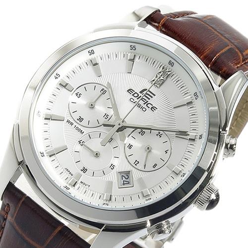 カシオ CASIO エディフィス クロノ クオーツ メンズ 腕時計 EFR-517L-7AV ホワイト