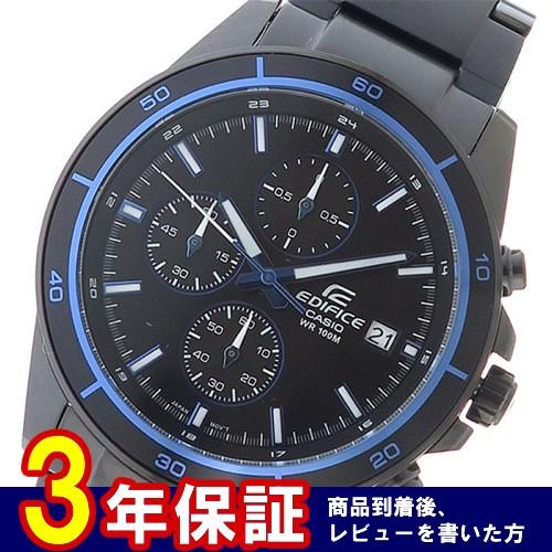 カシオ エディフィス メンズ 腕時計 EFR-526BK-1A2 ブラック