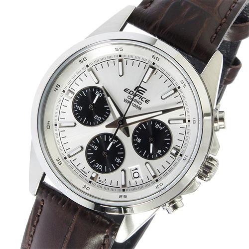 カシオ CASIO エディフィス EDIFICE クロノ クオーツ メンズ 腕時計 EFR-527L-7AV シルバー
