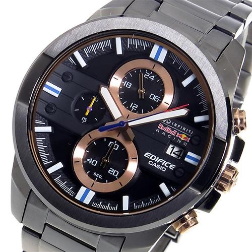カシオ エディフィス レッドブルコラボモデル クロノ メンズ 腕時計 EFR-543RBM-1A