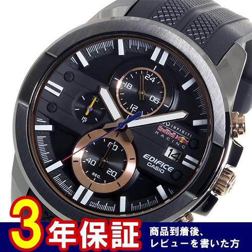 カシオ エディフィス レッドブルコラボモデル クロノ メンズ 腕時計 EFR-543RBP-1A
