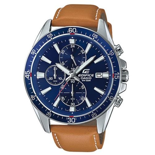 カシオ CASIO エディフィス クロノ クオーツ メンズ 腕時計 EFR-546L-2A ブルー