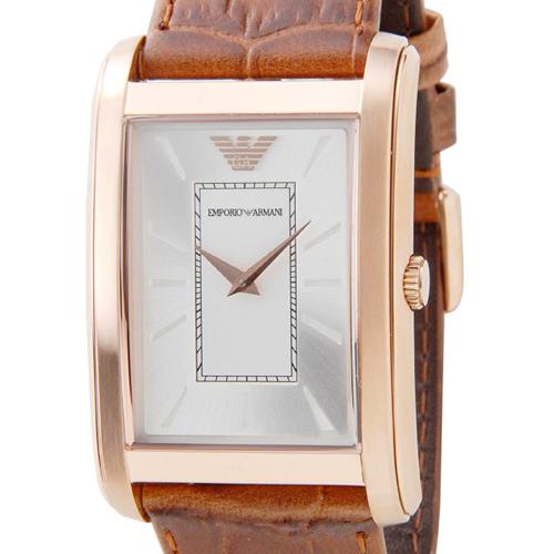 エンポリオ アルマーニ クラシック クオーツ メンズ 腕時計 AR1870 ブラウン