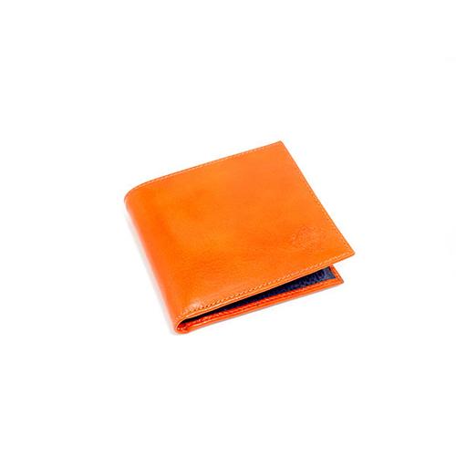 オロビアンコ OROBIANCO 二つ折り メンズ 短財布 FIRIPPO-I VL ARANCIO/DON BLU 7028279