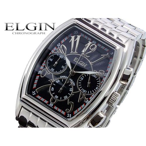 エルジン ELGIN クロノグラフ 腕時計 FK1215S-B