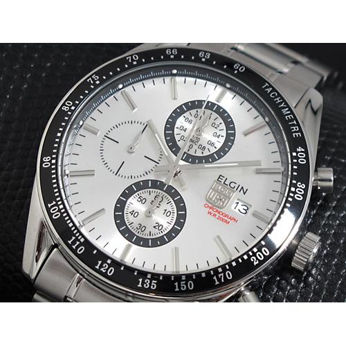 エルジン ELGIN クロノグラフ 腕時計 FK1295S