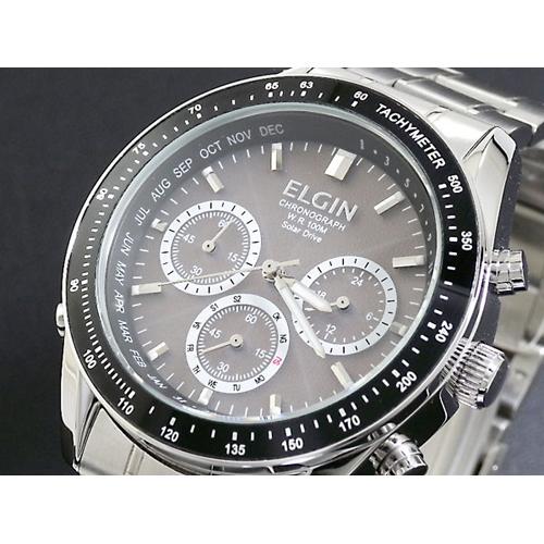 エルジン ELGIN 電波 ソーラー クロノ 腕時計 FK1361S-AP
