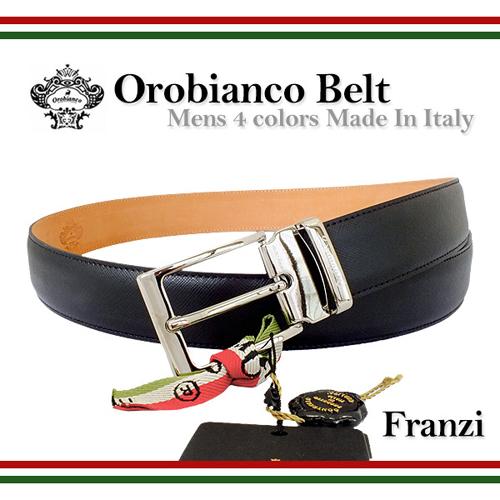 オロビアンコ OROBIANCO メンズ ベルト FRANZI NERO ブラック 41960