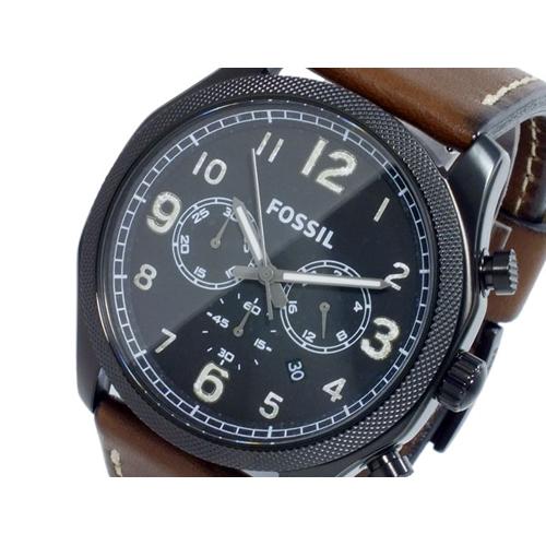フォッシル フォーマン FOREMAN クオーツ クロノ メンズ 腕時計 FS4887