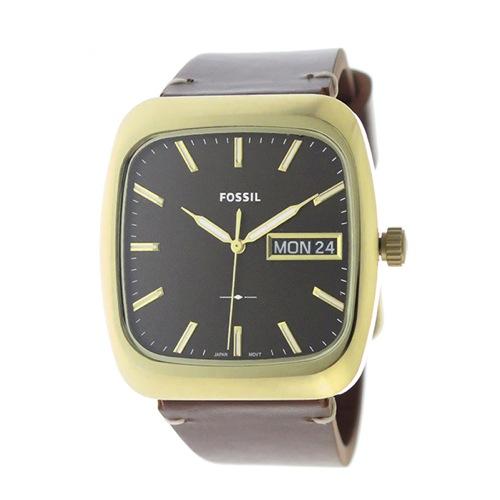 フォッシル クオーツ メンズ 腕時計 FS5332 メタルブラウン></a><p class=blog_products_name