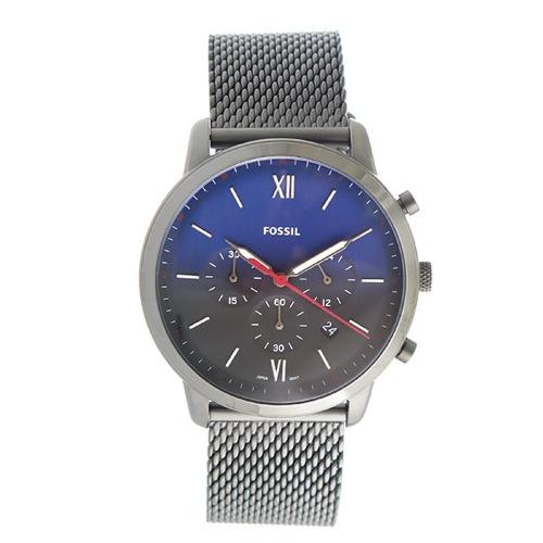 フォッシル クオーツ メンズ 腕時計 FS5383 ネイビー></a><p class=blog_products_name