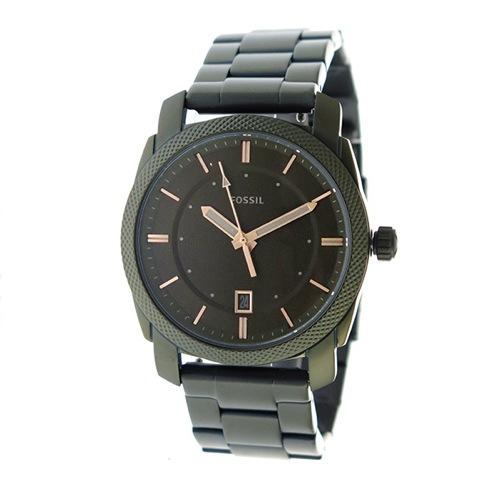 フォッシル クオーツ メンズ 腕時計 FS5389 カーキ></a><p class=blog_products_name