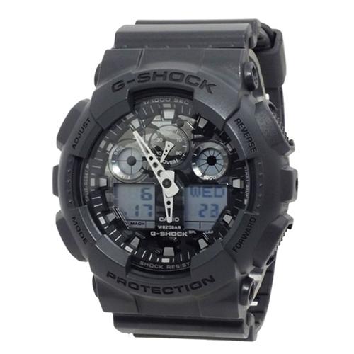 カシオ Gショック デジタル メンズ 腕時計 GA-100CF-8AER ダークグレー