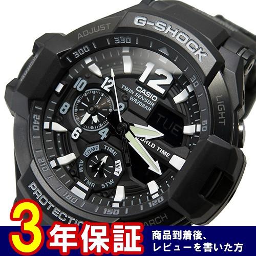 カシオ Gショック クオーツ メンズ 腕時計 GA-1100-1A ブラック