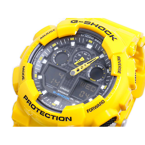 カシオ CASIO Gショック G-SHOCK アナデジ 腕時計 GA-100A-9A