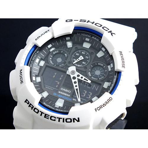 カシオ CASIO Gショック G-SHOCK ハイパーカラーズ 腕時計 GA-100B-7A