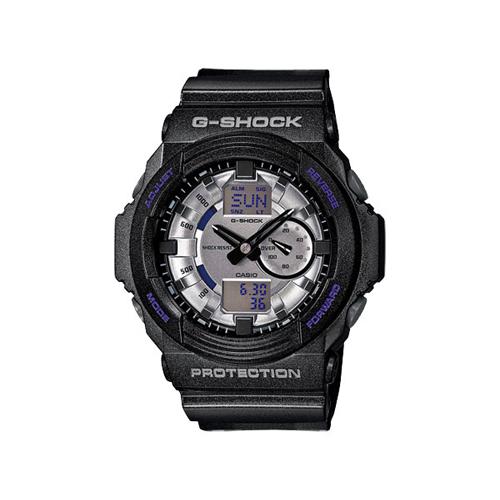 カシオ Gショック メタリックダイアル アナデジ 腕時計 GA150MF-8A シルバーグレー×ブラック