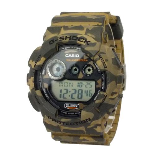 カシオ CASIO Gショック カモフラージュ デジタル メンズ 腕時計 GD-120CM-5
