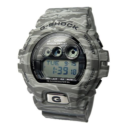 カシオ Gショック クオーツ メンズ 腕時計 GD-X6900TC-8 グレーカモフラ