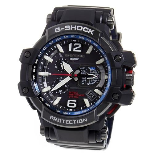 カシオ Gショック スカイコックピット メンズ 腕時計 GPW-1000-1A ブラック