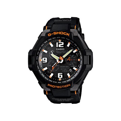 カシオ CASIO Gショック スカイコックピット 電波タフソーラー 腕時計 GW-4000-1AJF