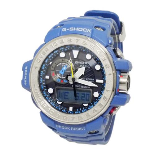 カシオ Gショック ガルフマスター 電波 ソーラー メンズ 腕時計 GWN-1000-2A