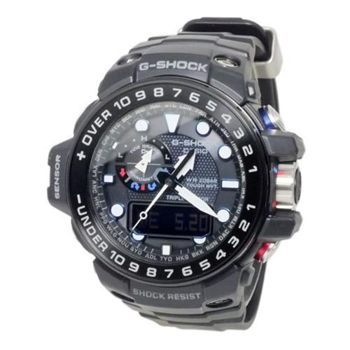 カシオ Gショック ガルフマスター 電波 ソーラー メンズ 腕時計 GWN-1000B-1A