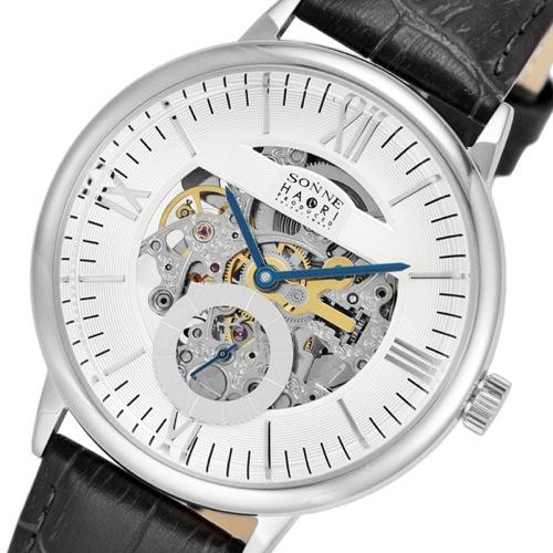 ゾンネ SONNE ハオリ HAORI 自動巻き メンズ 腕時計 H014SS-SV シルバー